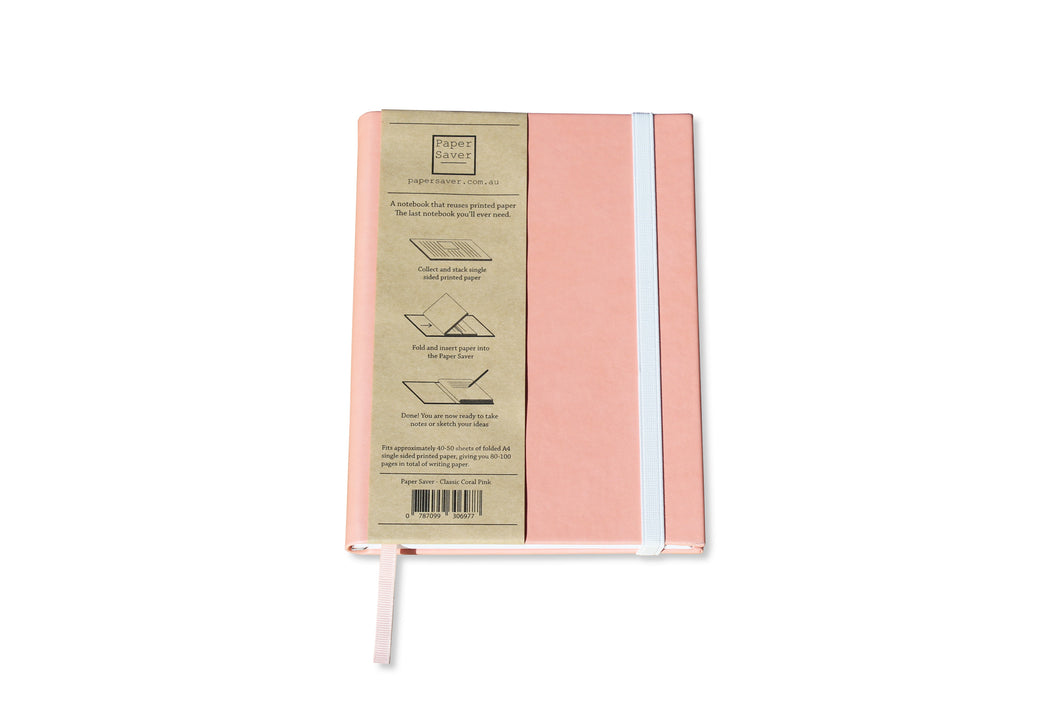 Classic Paper Saver - Coral Pink