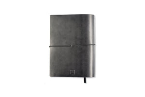 Leather Paper Saver - Black