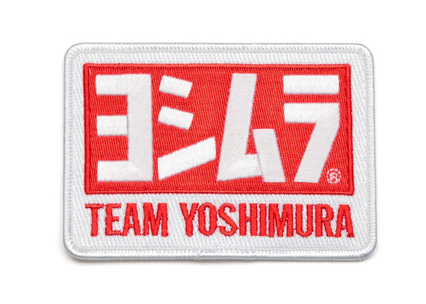 "Team Yoshimura Embroidered Patch 4-1/2"" x 3"""