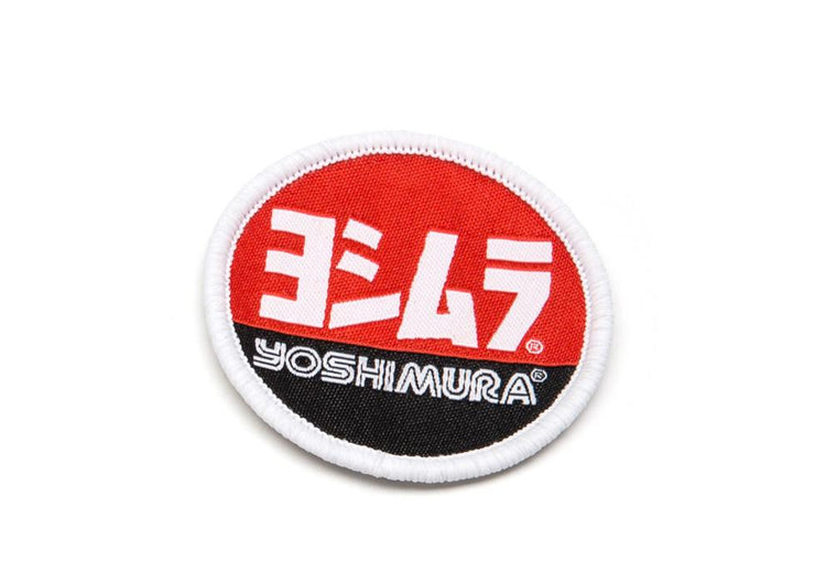 Yoshimura Round Woven Patch 1-3/4""