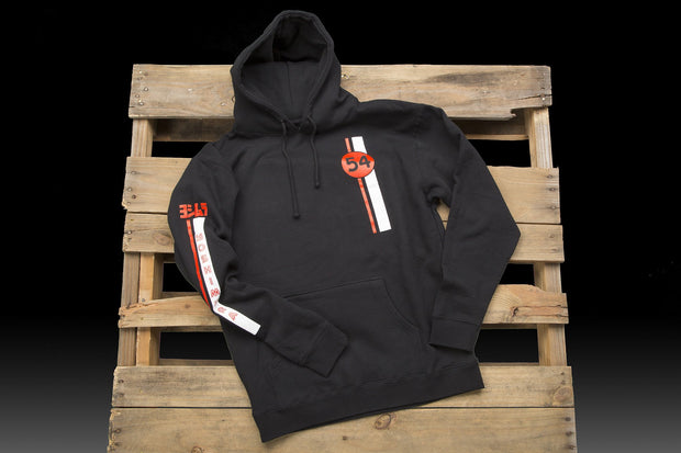 Racing Stripe Pull-Over Hoodie