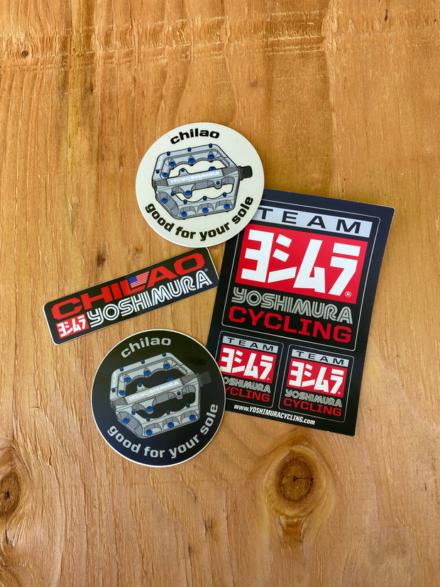 Yoshimura Cycling Sticker Pack