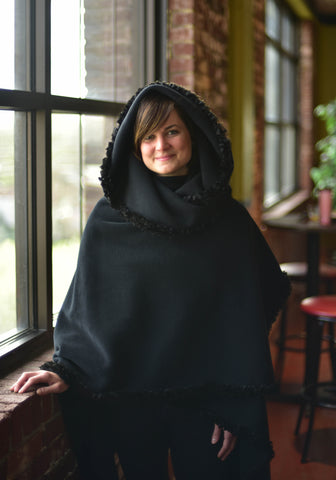 Cloque: The Trimmed Hooded Cloque