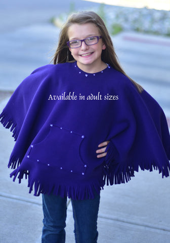 Kique: The Adult Fringed Kique with Pocket (w/ Embellishment)