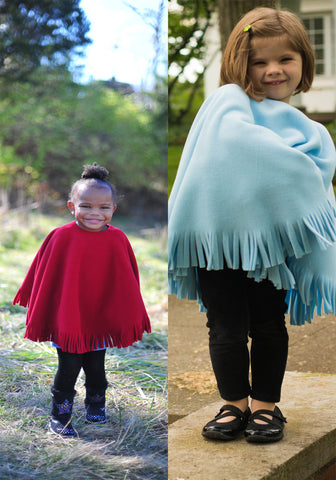 Kique: The Kids' Fringed Kique