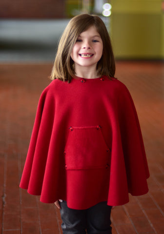 Kique: The Kids' Non-Fringed Kique with Pocket (w/ Embellishment)
