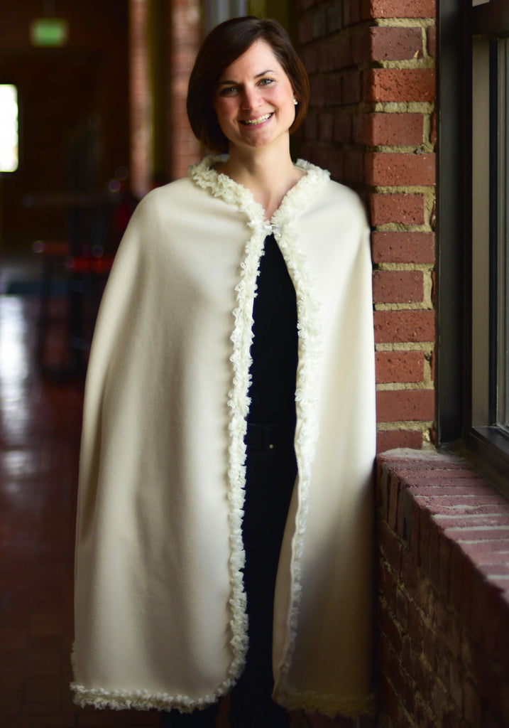 Cloque: The Trimmed Cape