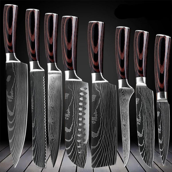 Japanese Kitchen Knife Set