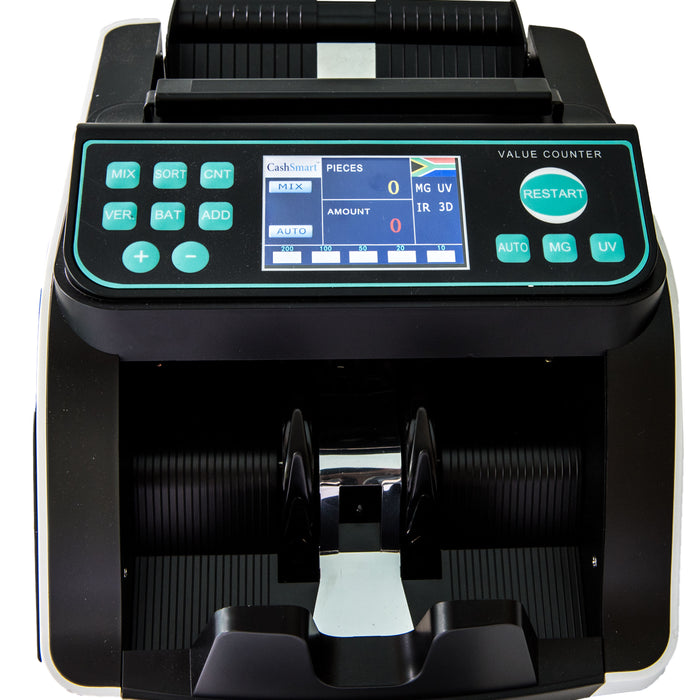 JUST ARRIVED..... First reasonably priced mixed note counter with CashSmart's reliability and Quality
