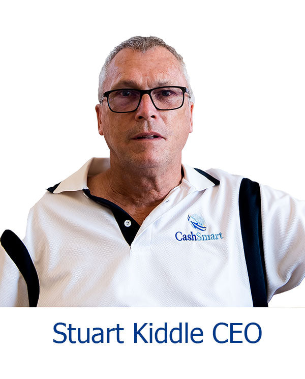 Stuart Kiddle CEO of CashSmart
