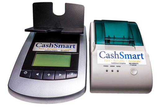 CS-7155 + Printer - Coin & Note Counter - CashsmartSA