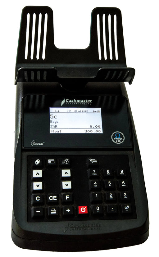 CS-230 Coin & Note Counter & Printer - CashsmartSA