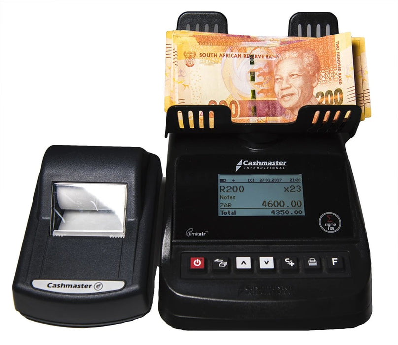 CS-105 Coin & Note Counter & Printer - CashsmartSA