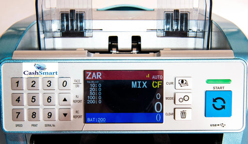 CS-0695 mixed Note Counter - CashsmartSA