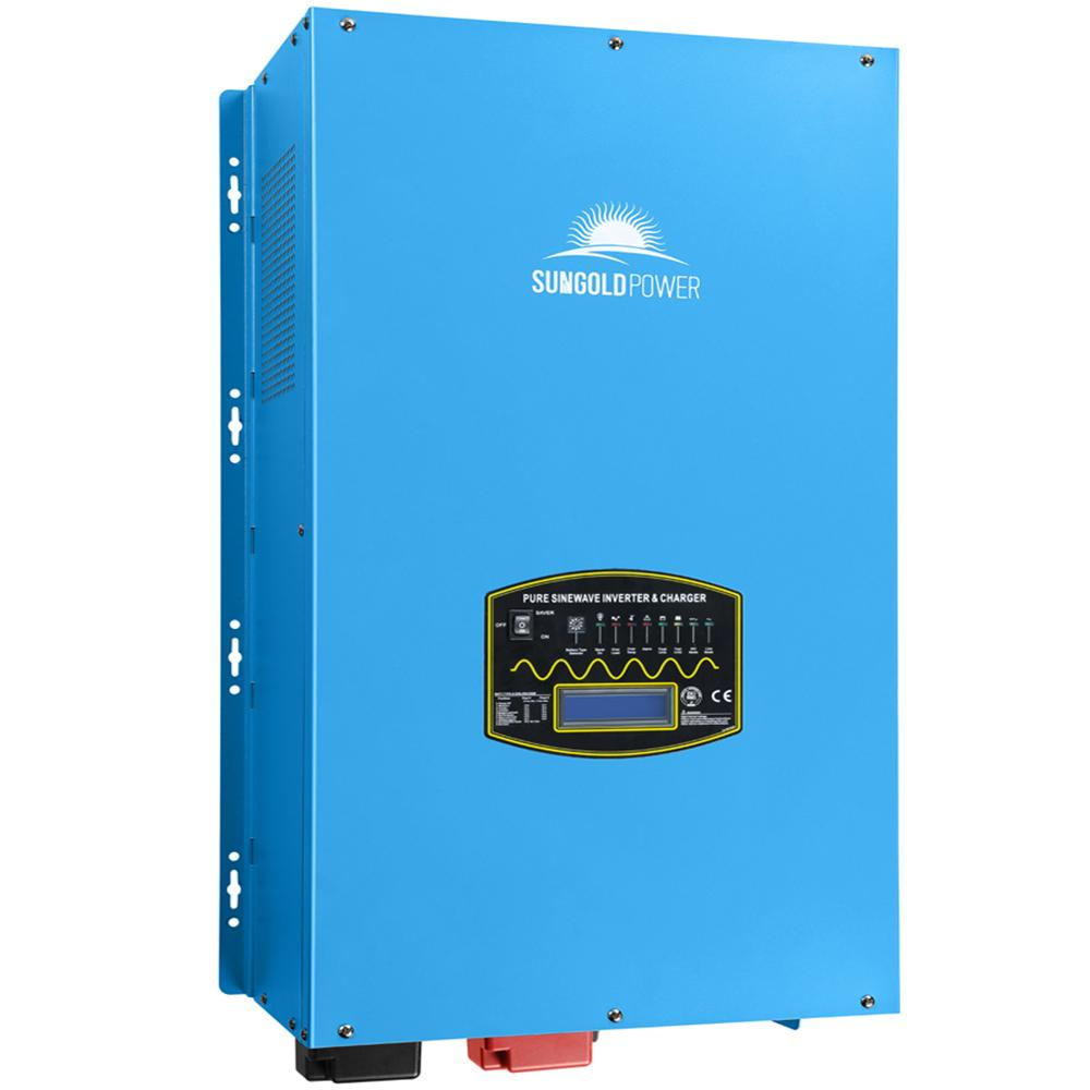 12000W 48V Split Phase Pure Sine Wave Solar Inverter Charger