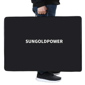 130W Monocrystalline Foldable Solar Panel