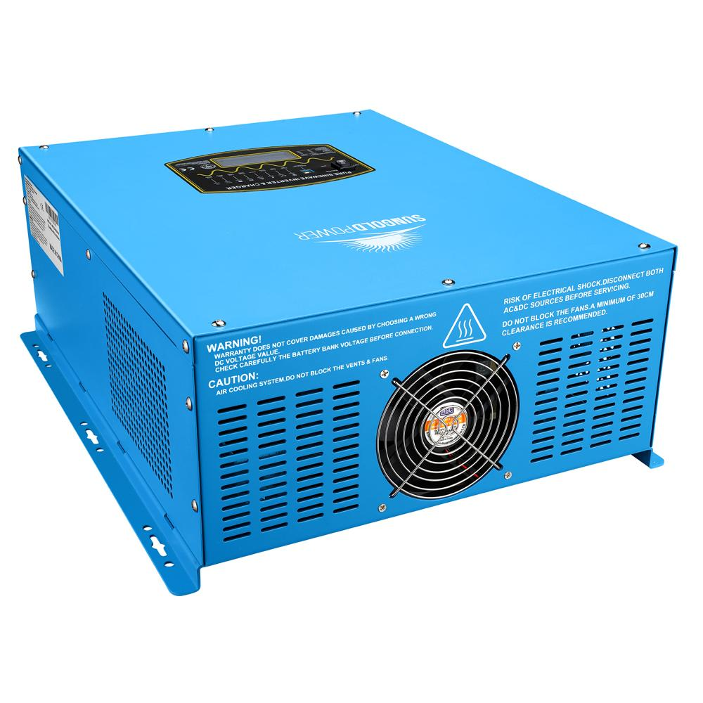 4000W 12V Pure Sine Wave Solar Inverter Charger