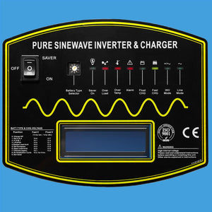 4000W 12V Split Phase Pure Sine Wave Solar Inverter Charger
