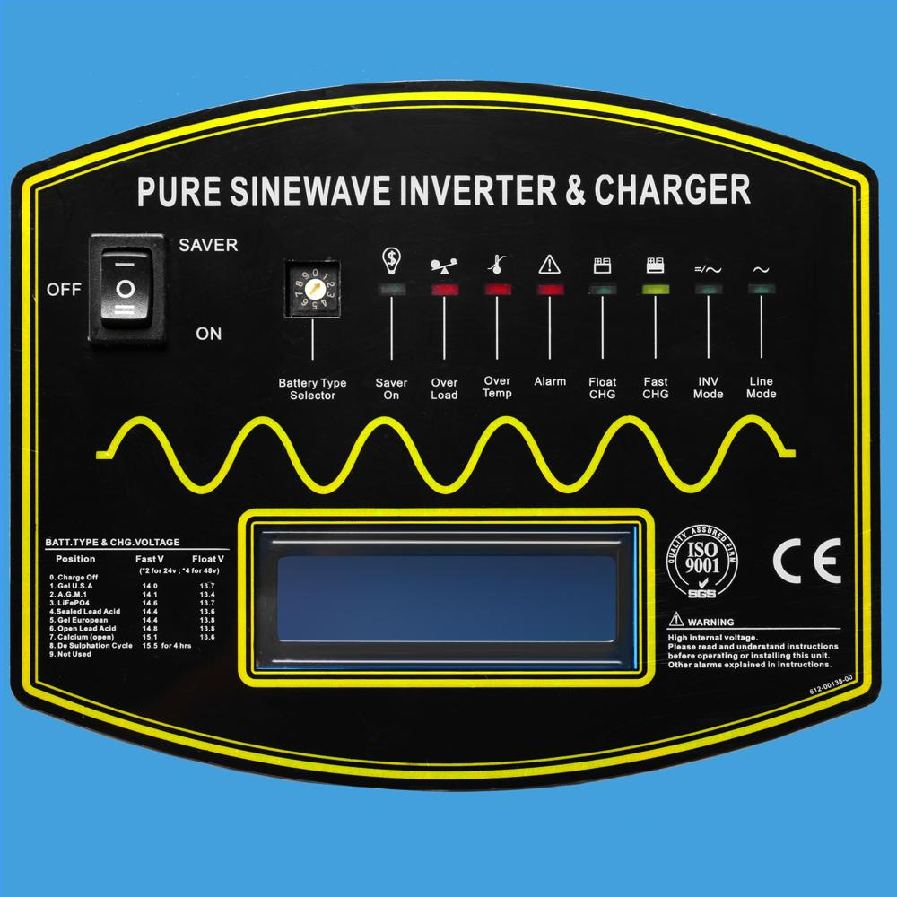 5000W 12V Pure Sine Wave Solar Inverter Charger
