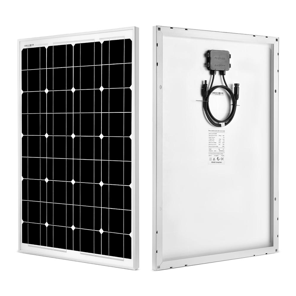 60 Watt Monocrystalline Solar Panel