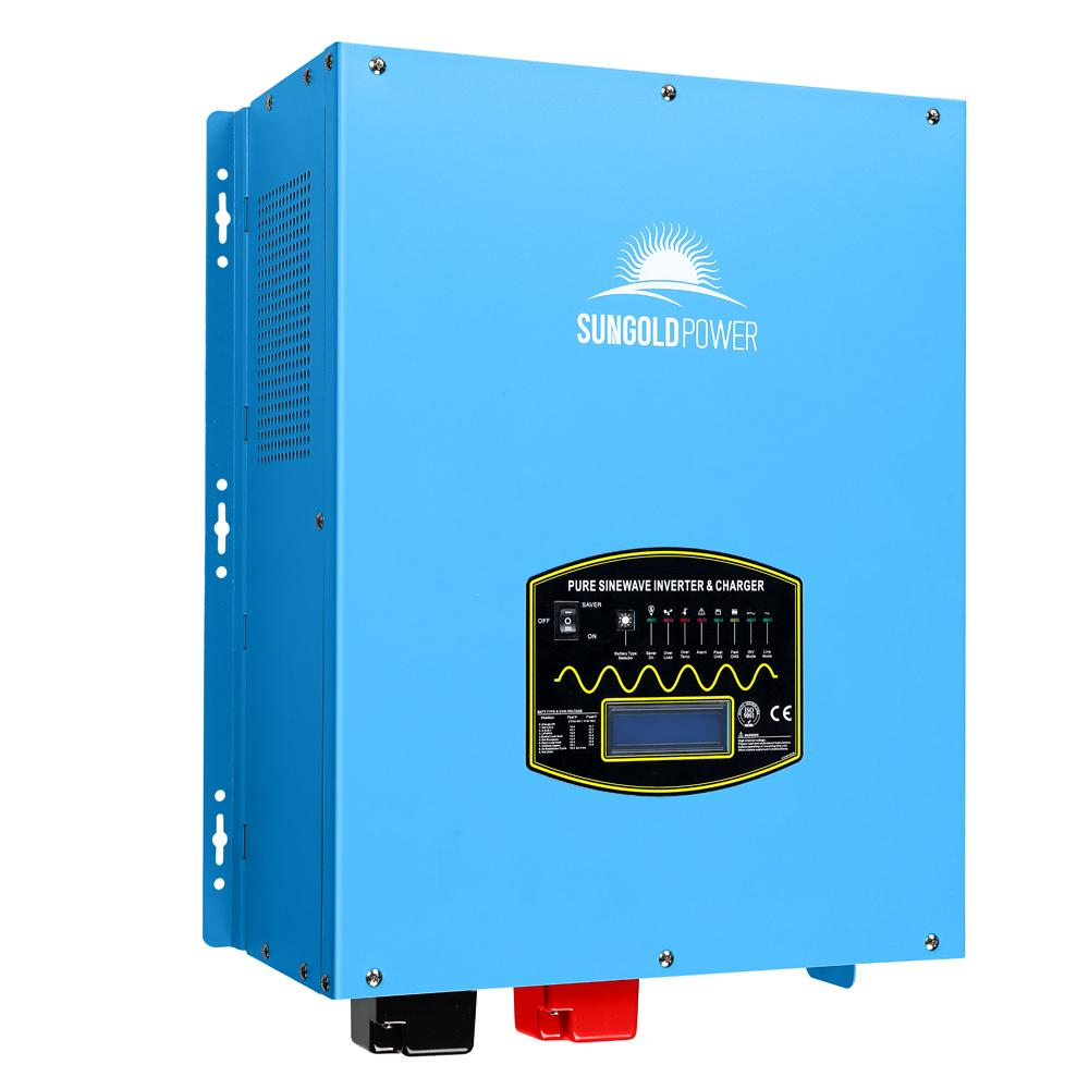 6000W 24V Split Phase Pure Sine Wave Solar Inverter Charger