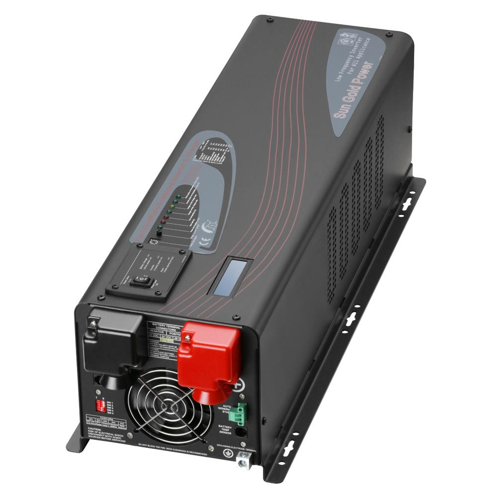 4000W DC 12V Split Phase Pure Sine Wave Inverter With Charger