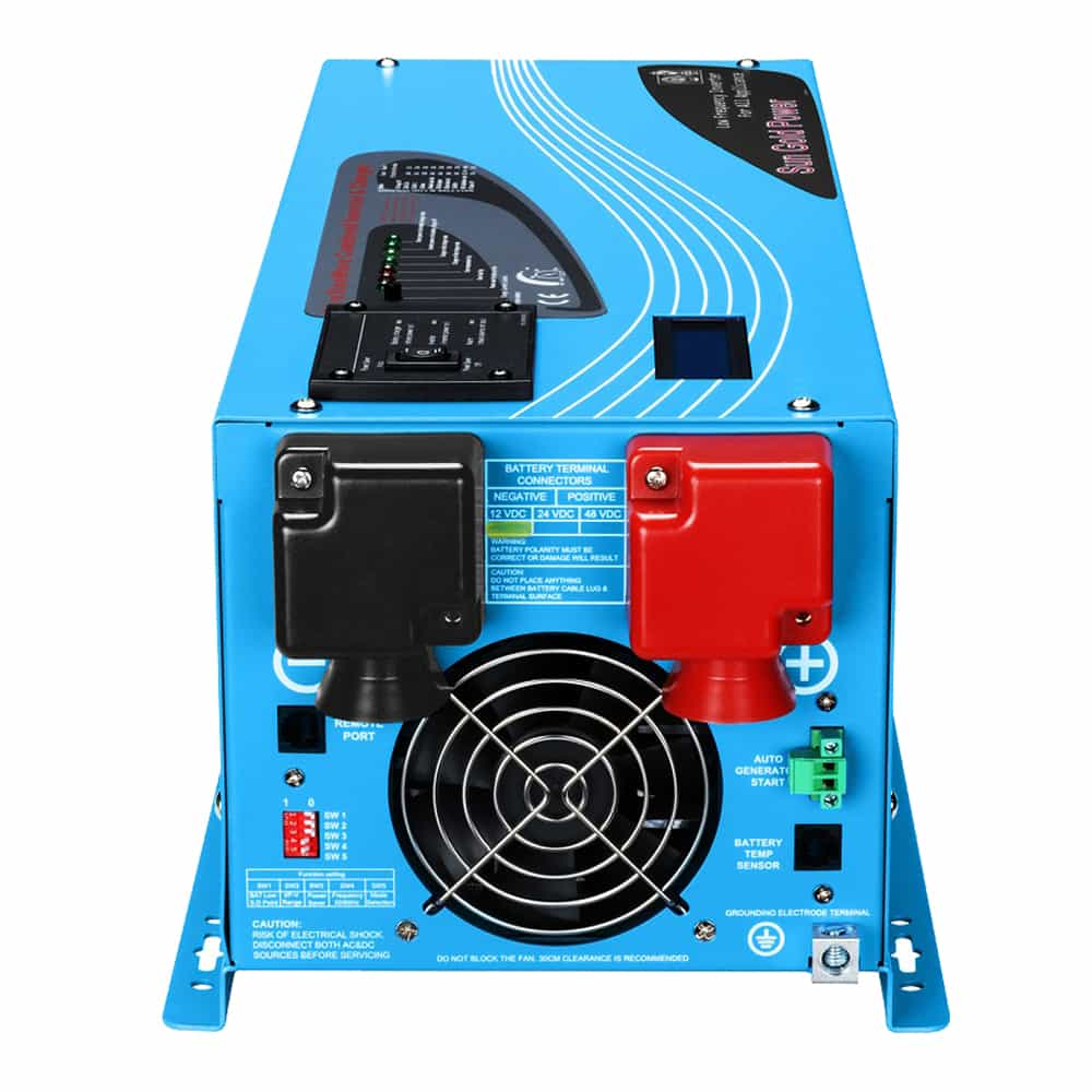 4000W DC 24V Pure Sine Wave Inverter  With Charger