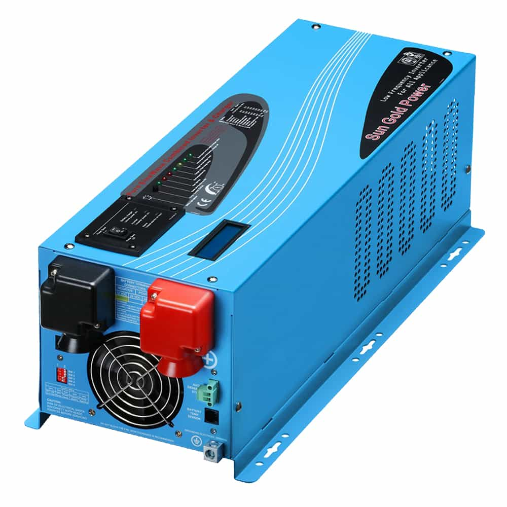 3000W DC 24V Pure Sine Wave Inverter With Charger