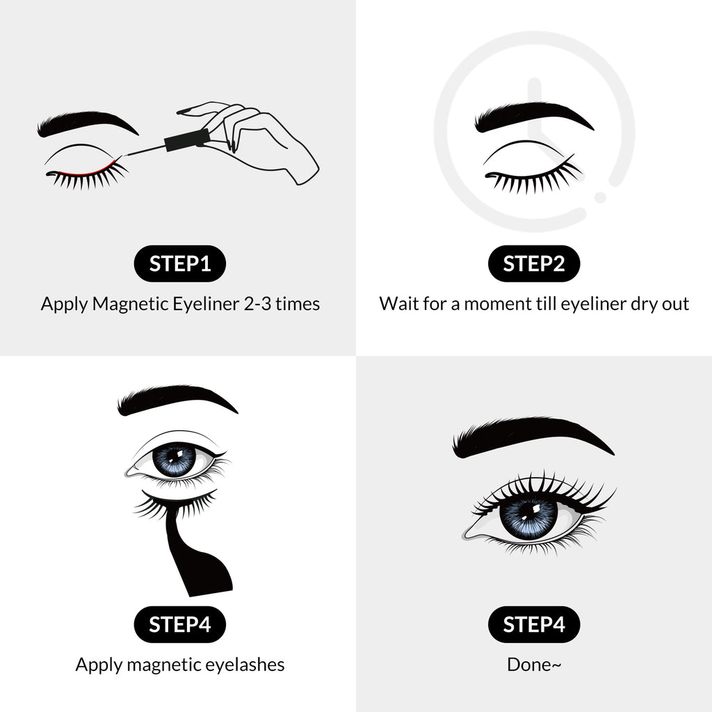 Magnetic Lashes & Eyeliner Kit