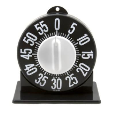 Kitchen Accessories - Large Black Tactile Timer