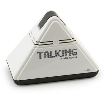 - Clocks -  Talking Pyramid Alarm Clock