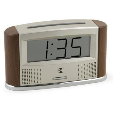 - Clocks -  Talking Time/Temperature Atomic Clock