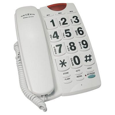 - Telephones - White Giant Button Telephone