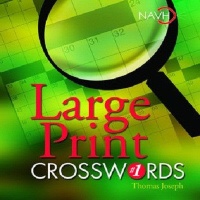 Toys & Games-  Large Print Crosswords