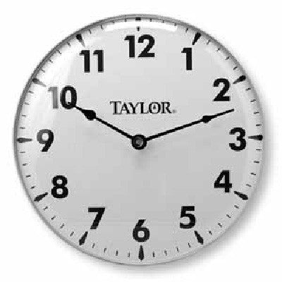 Clocks - 18-Inch White Analog Wall Clock
