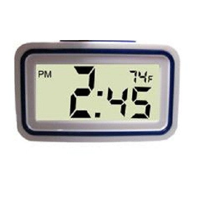 - Clocks -  Small Time & Temperature Alarm Clock