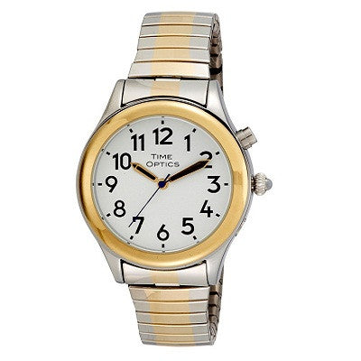 -Talking Watch - Ladies Silver/Gold-