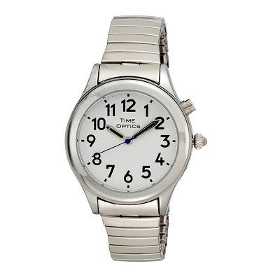 - Watches - Ladies Talking - Ladies Silver 1 Button Talking Watch