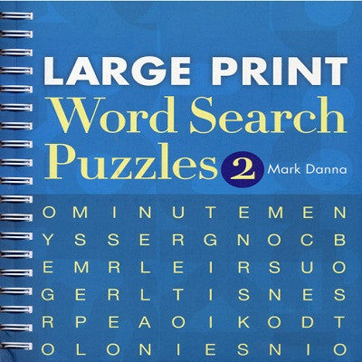 Toys & Games-  Large Print Word Search
