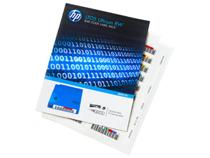 Hewlett Packard Enterprise Q2012A barcode label