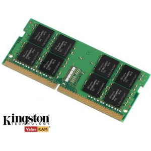 Kingston Technology 16GB (1x16GB) DDR4 SODIMM 2400MHz CL17 1.2V ValueRAM Single Stick Notebook Laptop Memory ~KVR21S15D8