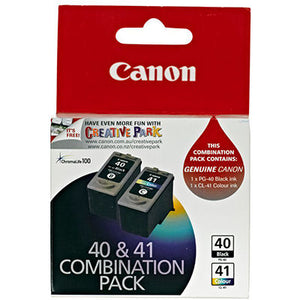 CANON PG40 + CL41 COMBO PACK