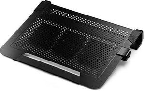"Cooler Master NotePal U3 Plus notebook cooling pad 48.3 cm (19"") 1800 RPM Black"
