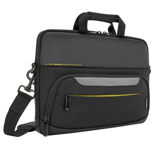 "Targus City Gear notebook case 35.6 cm (14"") Briefcase Black"