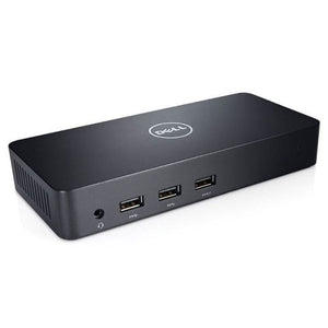 DELL D3100 USB UHD 4K DOCKING STATION, GbE, USB(5), HDMI( 2), DP, 1YR