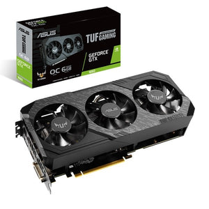 ASUS TUF Gaming TUF3-GTX1660-O6G-GAMING GeForce GTX 1660 6 GB GDDR5