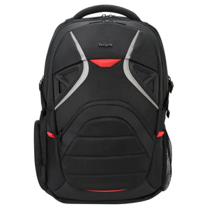 Targus Strike notebook case 43.9 cm (17.3) Backpack Black,Red