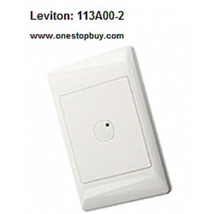 Leviton OMNI-BUS 3-BUTTON WALL SWITCH BRUSHED STAINLESS