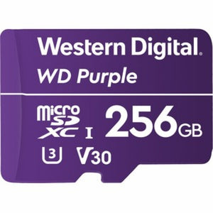 Western Digital WD Purple SC QD101 memory card 256 GB MicroSDXC Class 10