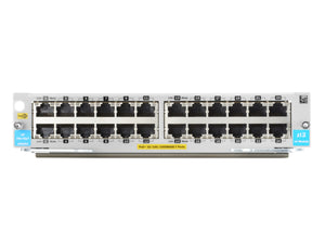 Hewlett Packard Enterprise 24-port 10/100/1000BASE-T PoE+ MACsec v3 zl2 Module network switch module Gigabit Ethernet